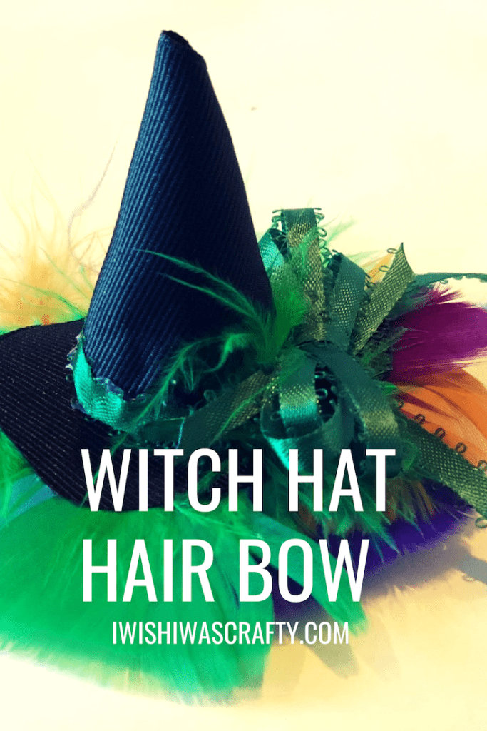 Witch Hat Hair Bow