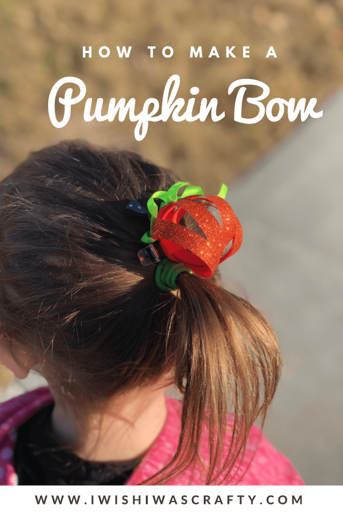 Pumpkin Sculpture Bow