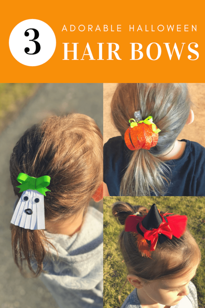 Make your own Halloween Hairbows!