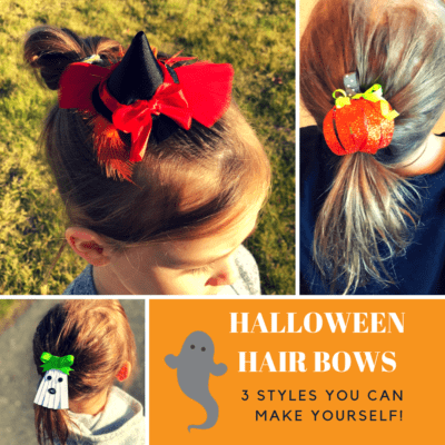 Halloween Hair Bows – 3 Styles You are Going to LOVE!
