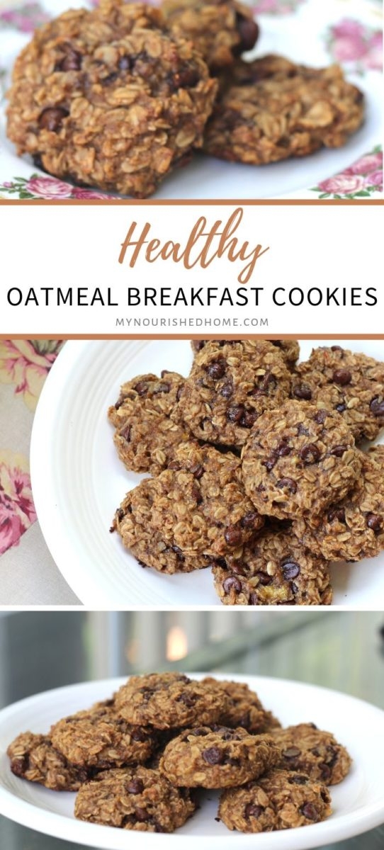 Delicious oatmeal breakfast cookie recipe