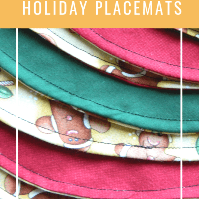 Easy Holiday Placemats – Perfect for a Beginner