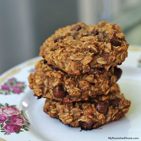 Oatmeal Breakfast Cookies 600x900