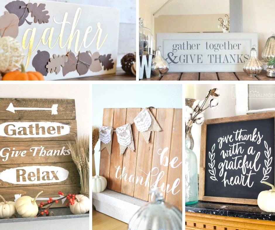 DIY your own Thanksgiving Decor