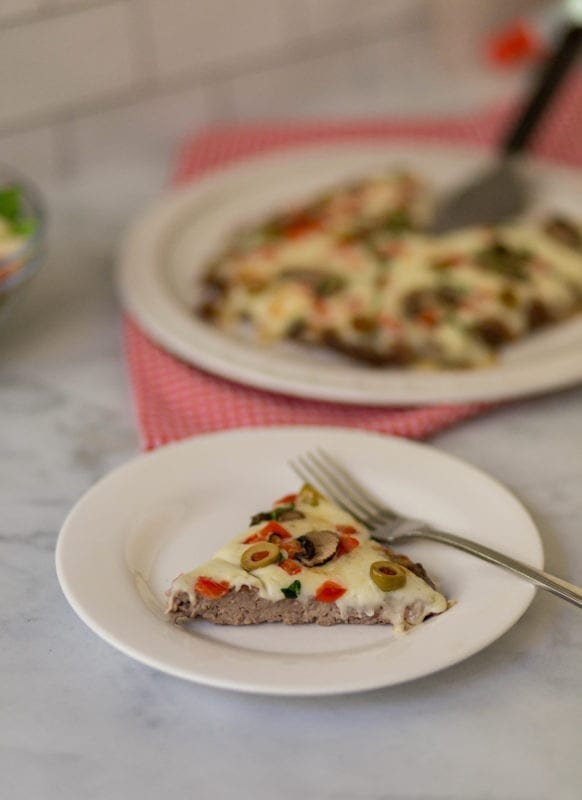 Meatza, the magical Keto Pizza.