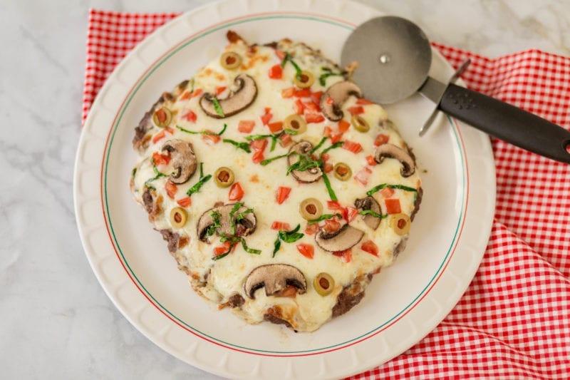 Keto pizza - Meatza