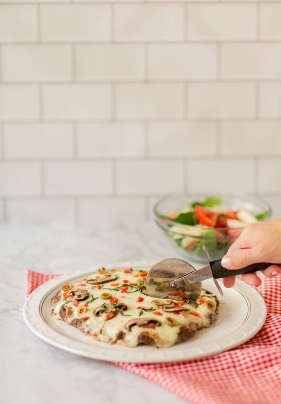 Pizza that is carb free - Meatza