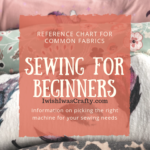 Sewing for Beginners – Machines, Fabrics and Notions