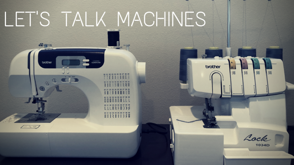 Types of Sewing Machines and how each machine is used - Basic Sewing Machine, Serger, and Coverstitch Machine