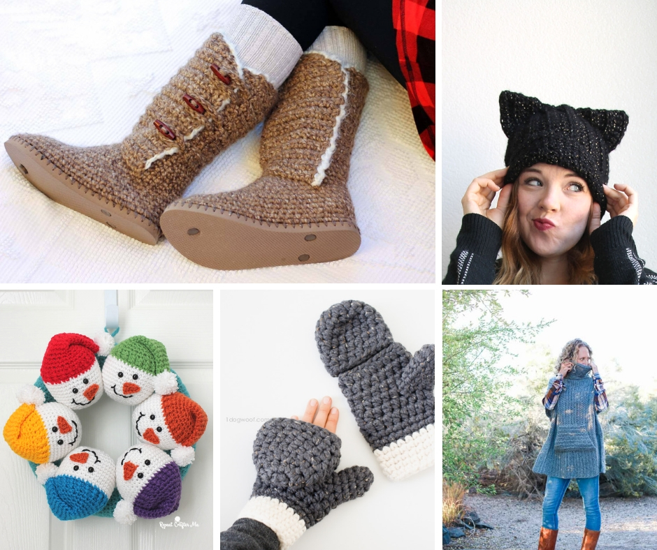 Gorgeous winter crochet ideas