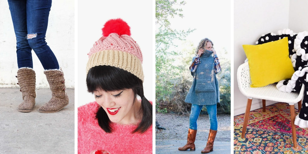 Crochet projects perfect for winter gifts