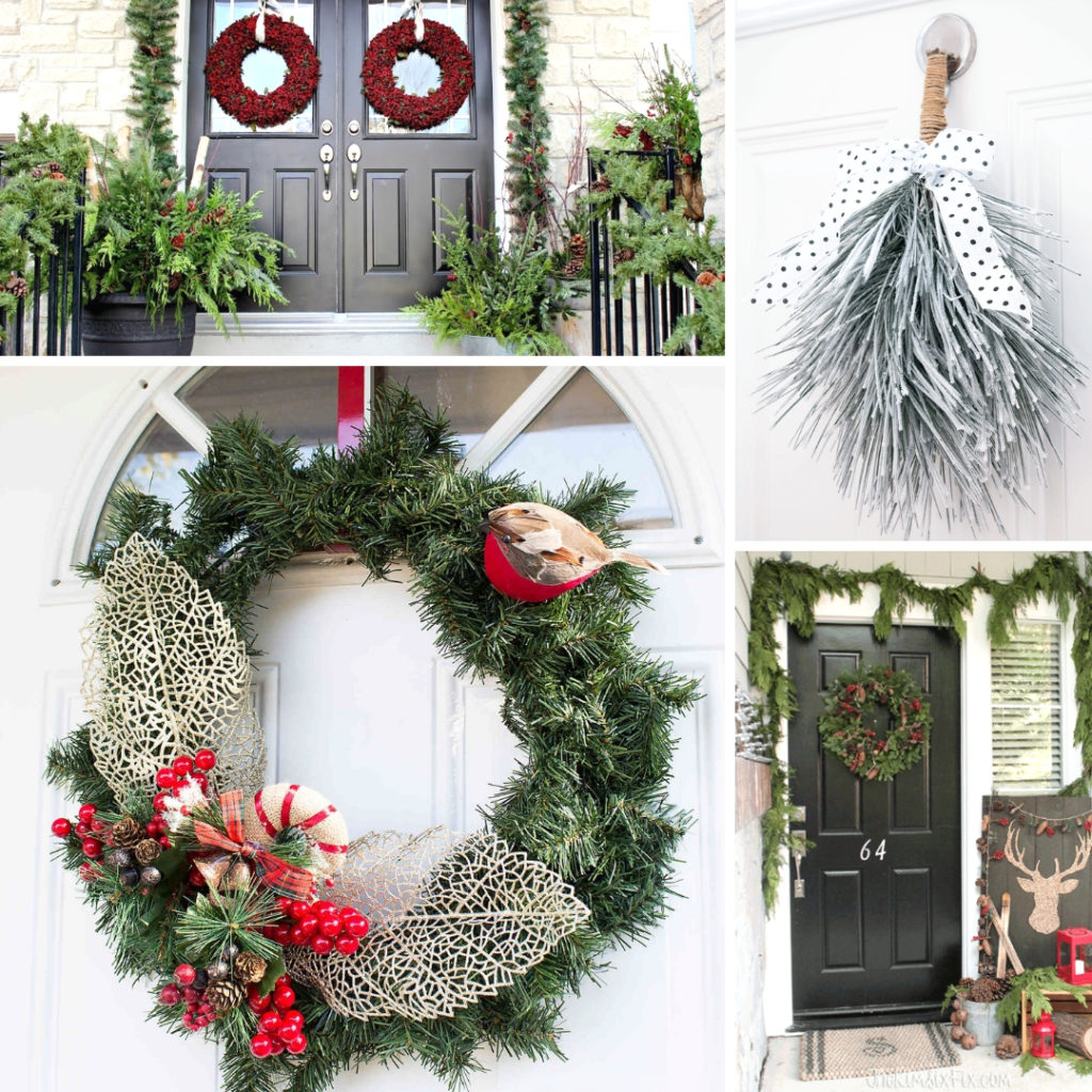 Winter outdoor decor inspiration