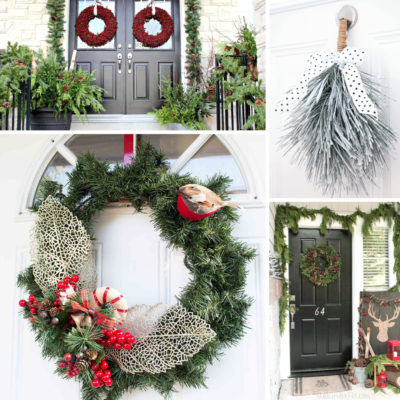 Winter Front Door Ideas