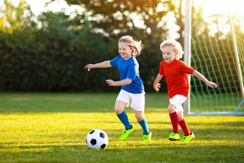 Sports help kids develop healthy habits