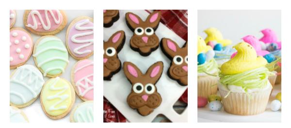 Favorite Easter Desserts