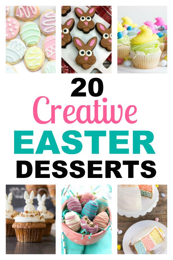 20 Cretive Easter Desserts