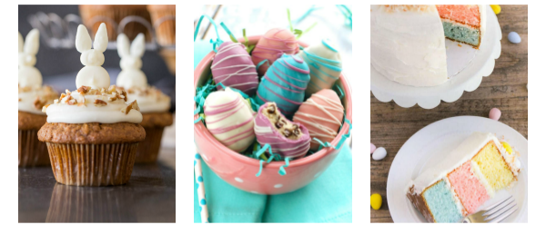 Kid Friendly Easter Desserts