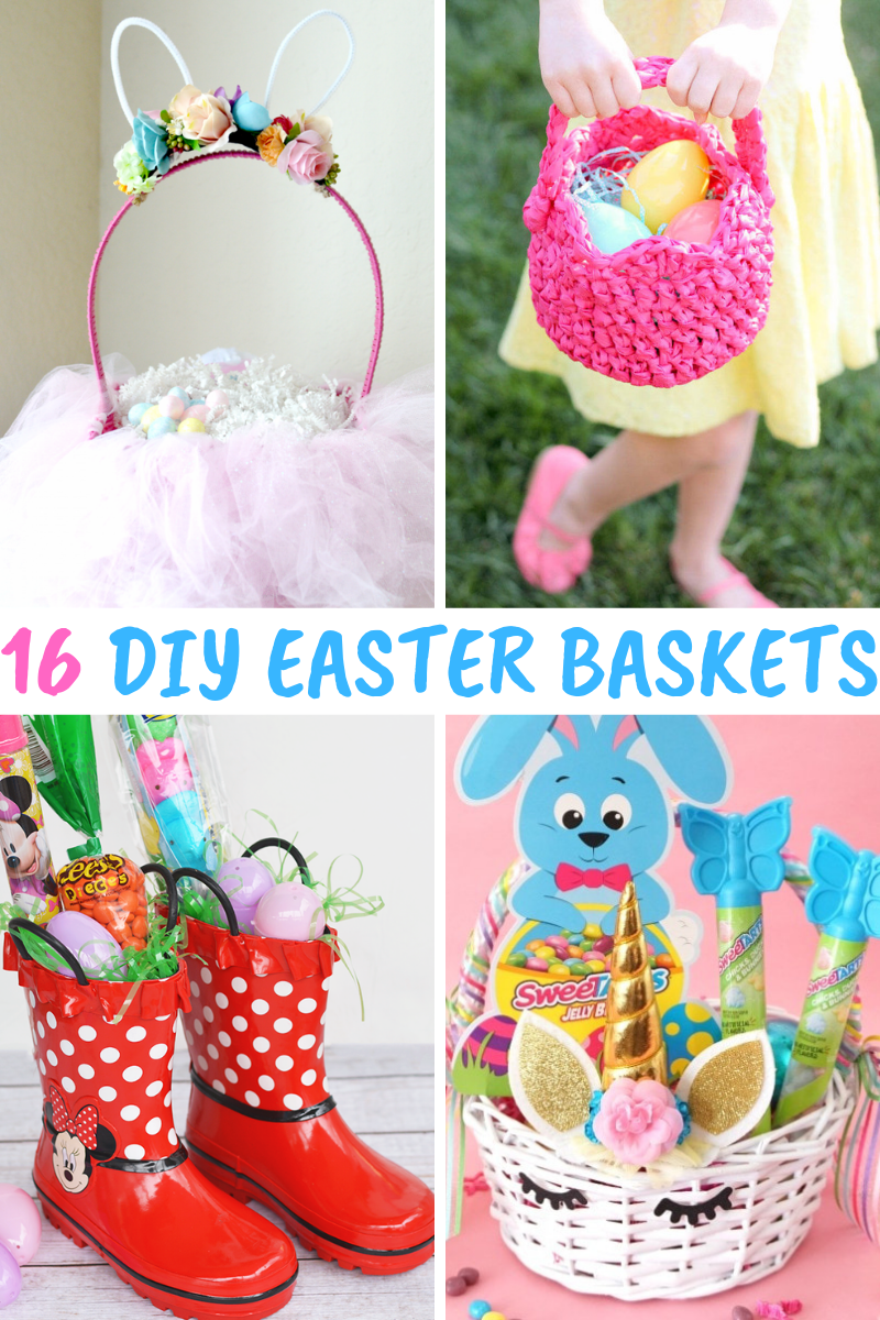DIY Easter Baskets make for a memorable, special spring holiday!