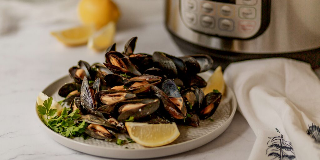 Mussels made in the instant pot