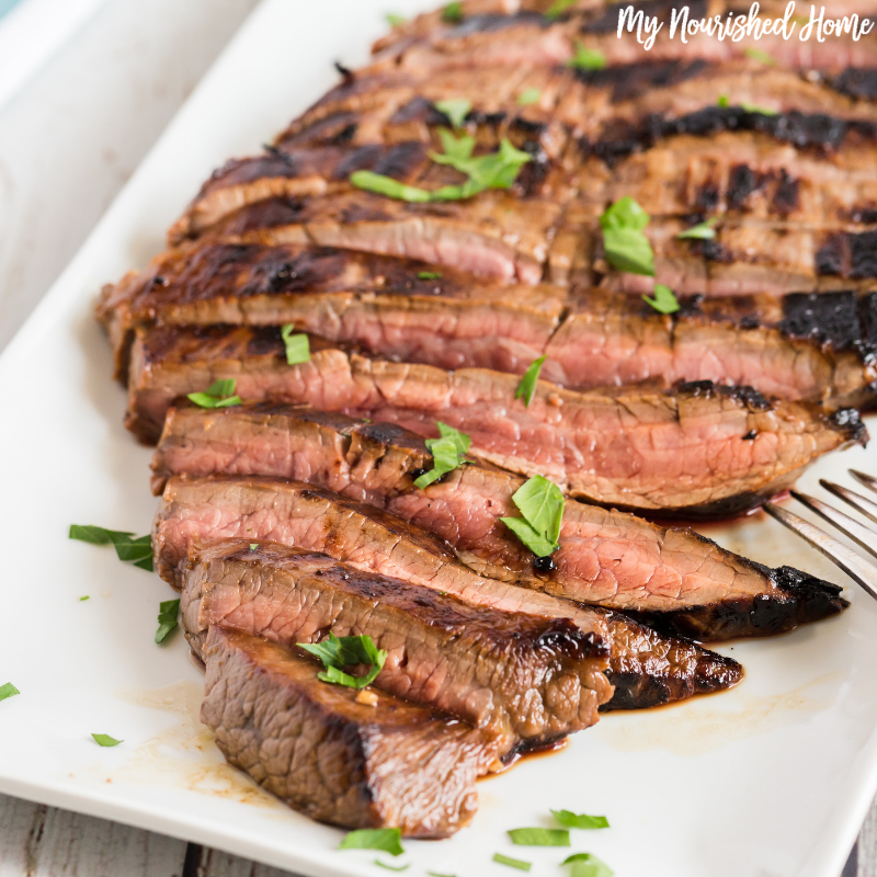 Cast Iron Flank Steak Recipe