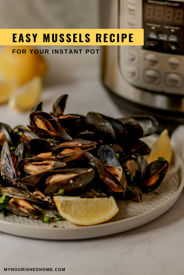 Mussels recipe is easy and delicious
