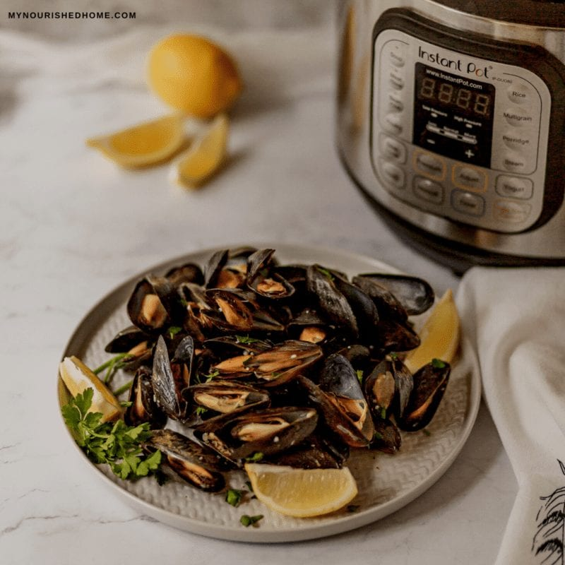 Instant Pot Mussels Recipe