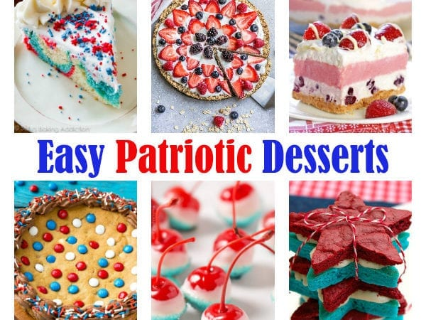 Make these Easy Patriotic Desserts for your Summer Entertaining