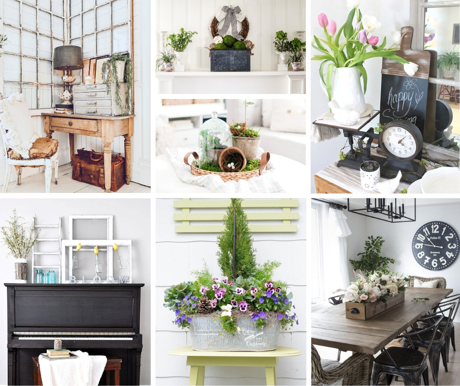 Home Design Ideas Facebook: Spring Farmhouse Decor Ideas