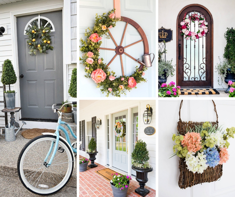 Spring Entrance Decor Ideas