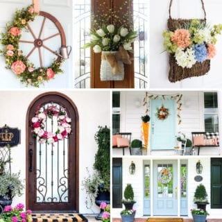 Front door ideas for spring!