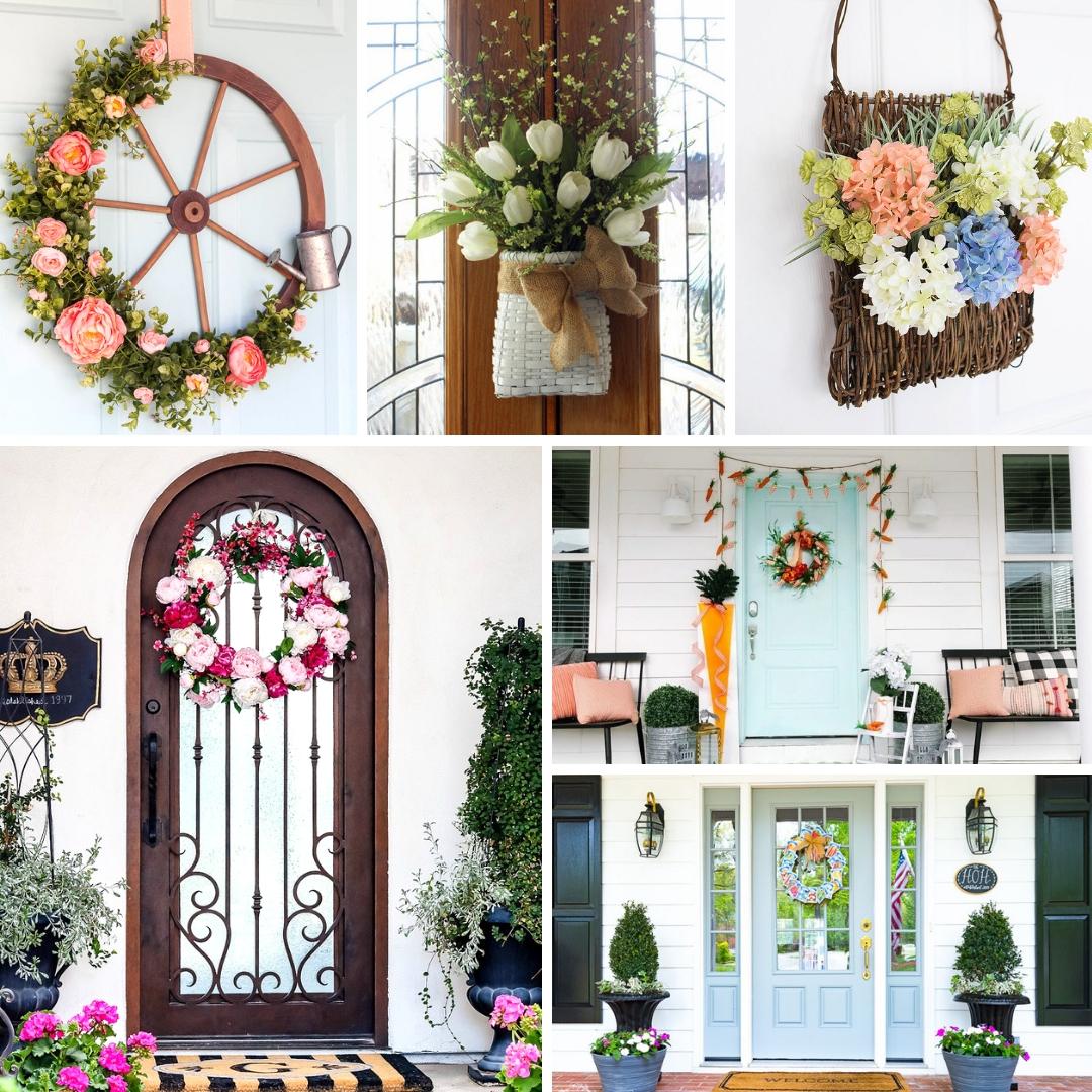Spring Front Door Ideas | My Nourished Home