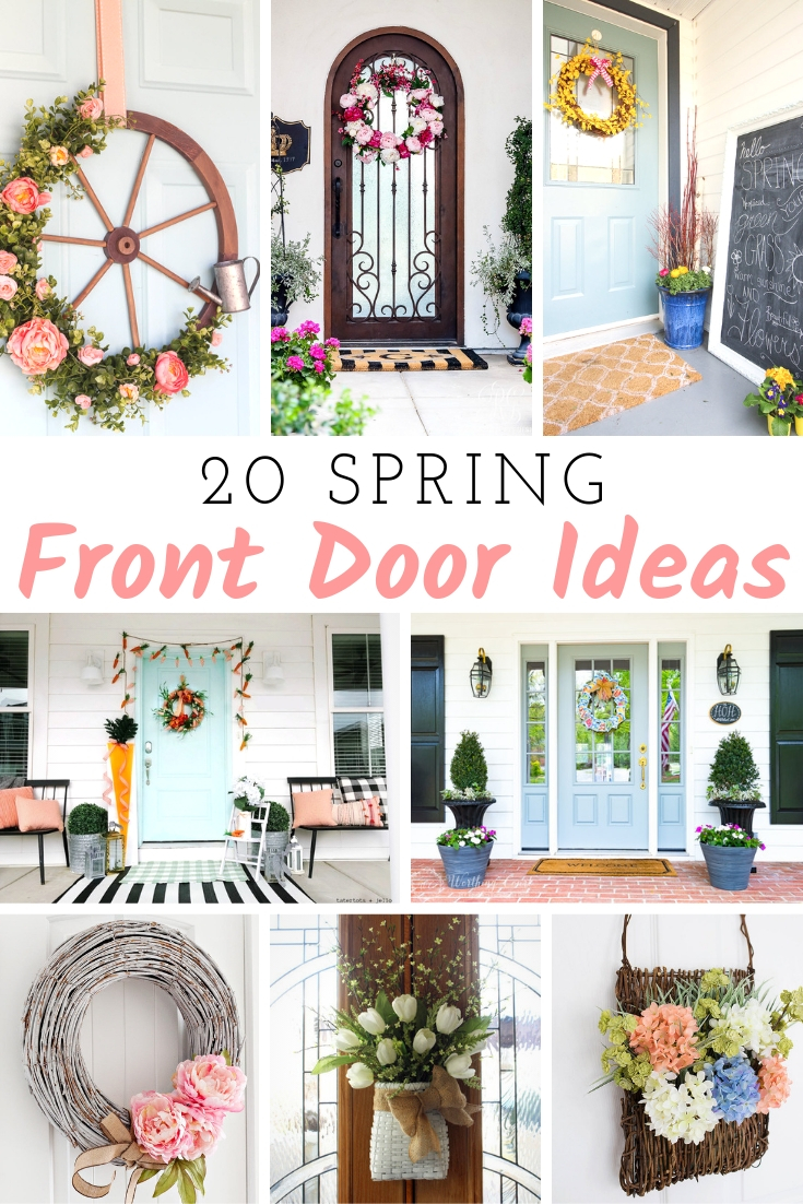 Spring Front Door Ideas