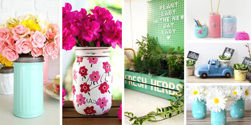 DIY Mason Jar Crafts this spring