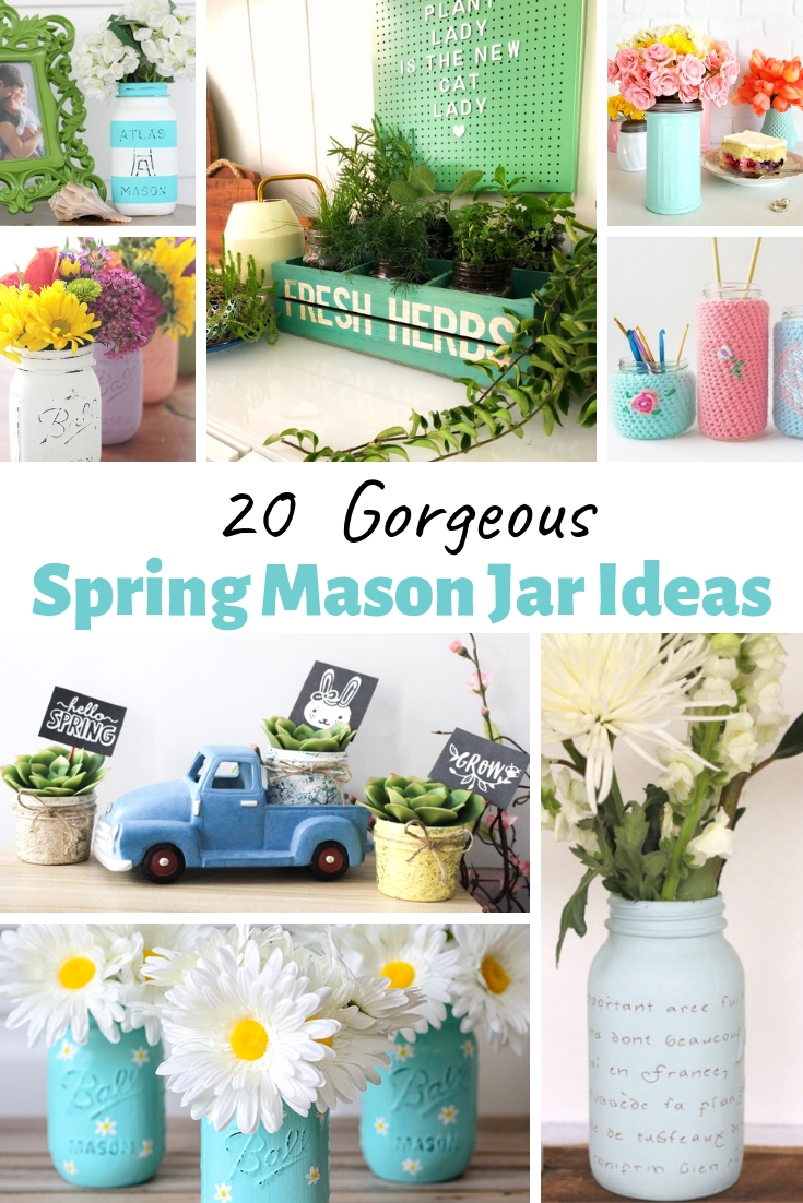 Spring Mason Jar Ideas
