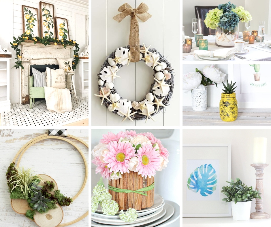 Farmhouse Summer Decor Ideas | My Nourished Home