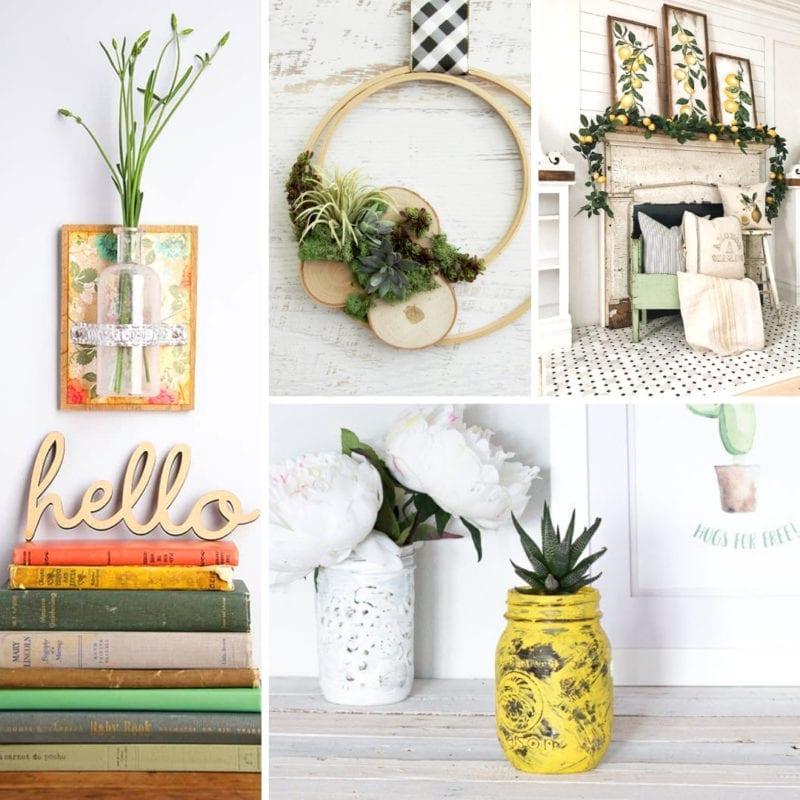 Summer Farmhouse decor ideas