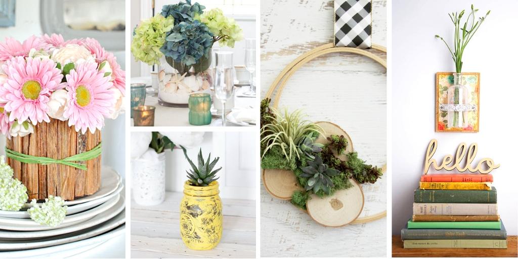 Farmhouse ideas for summer decorating