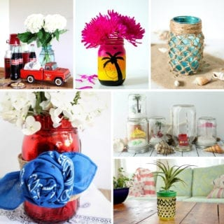 Summer mason jar ideas
