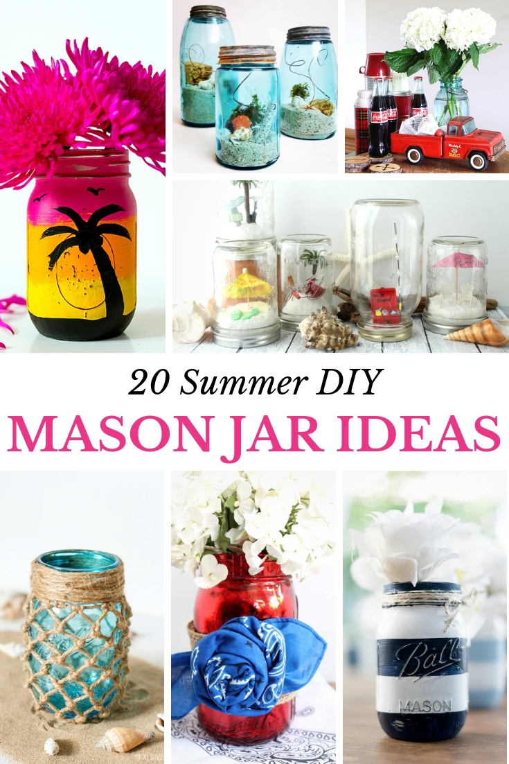 Unique Summer Mason Jar Crafts My Nourished Home