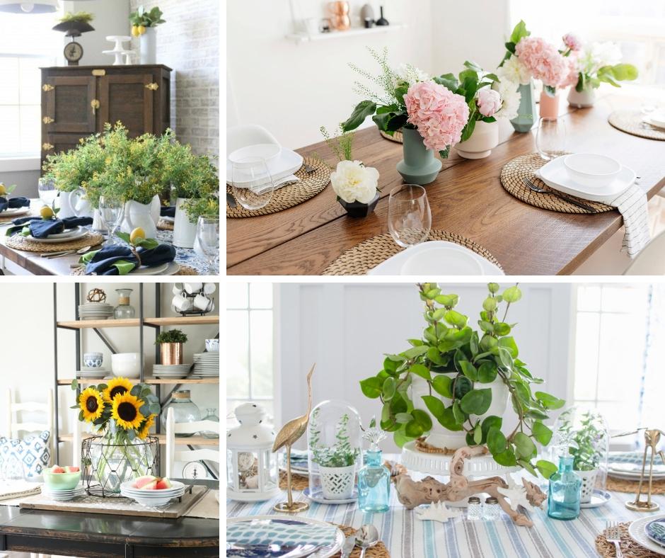 Elegant Summer Table Decorations