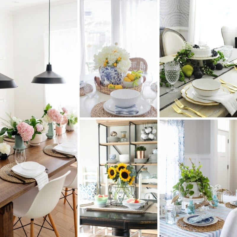 Fabulous Easy Summer Tablescapes For Casual Dinners My Nourished Home Beutiful Home Inspiration Ommitmahrainfo