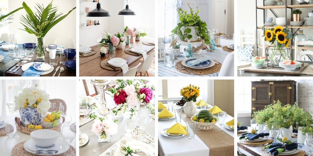 table decor that is simple and elegant