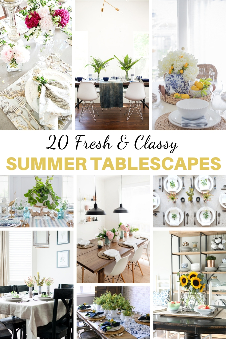 easy summer tablescapes