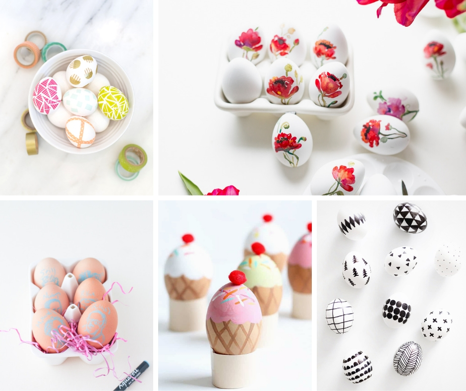 Easter is about spending time together. Get crafty together this year when you decorate your Easter eggs.