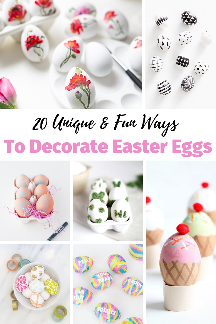 Unique & Fun Ways To Decorate Easter Eggs