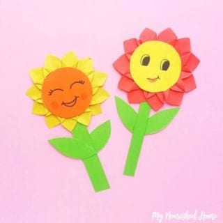 Sunflower Paper Craft for Kids