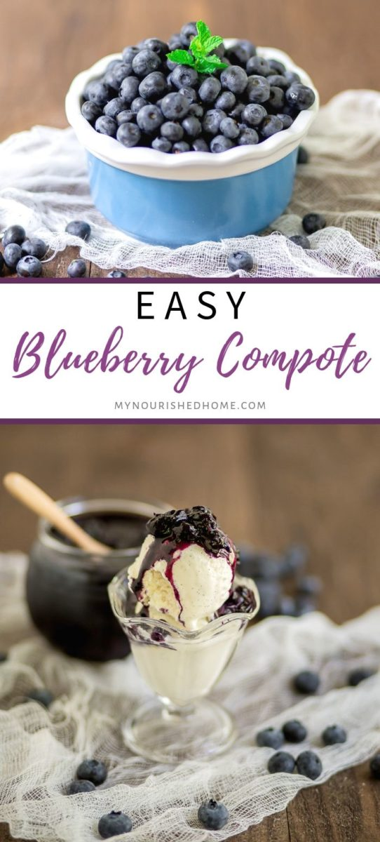 Make Fresh Blueberry Compote Recipe