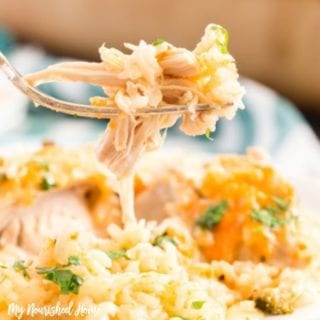 Cheesy Chicken and Rice Recipe