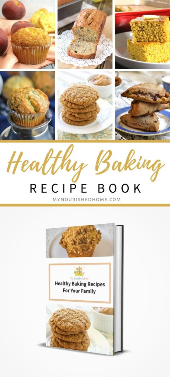 Healthy Baking Cookbook for Busy Moms