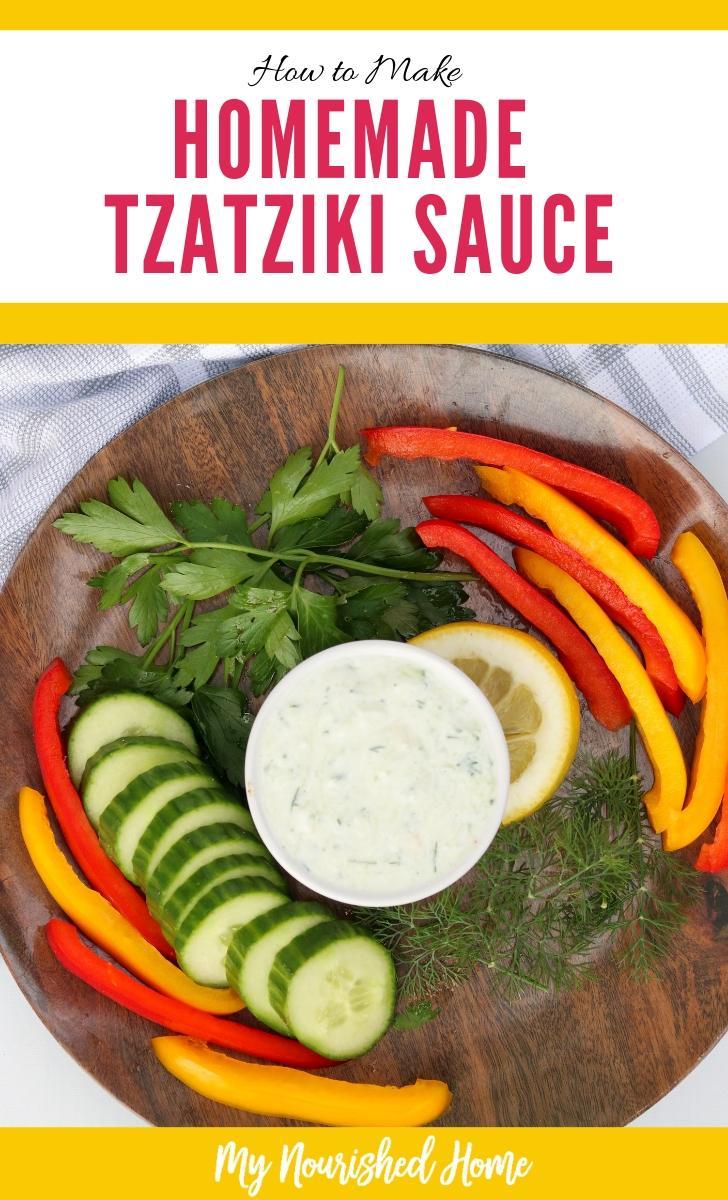 How to Make Easy Homemade Tzatziki Sauce